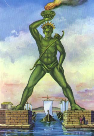 The Colossus of Rhodes - Symbol of Power and Coercion